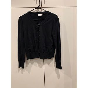 NEW LOOK black cardigan. size s.